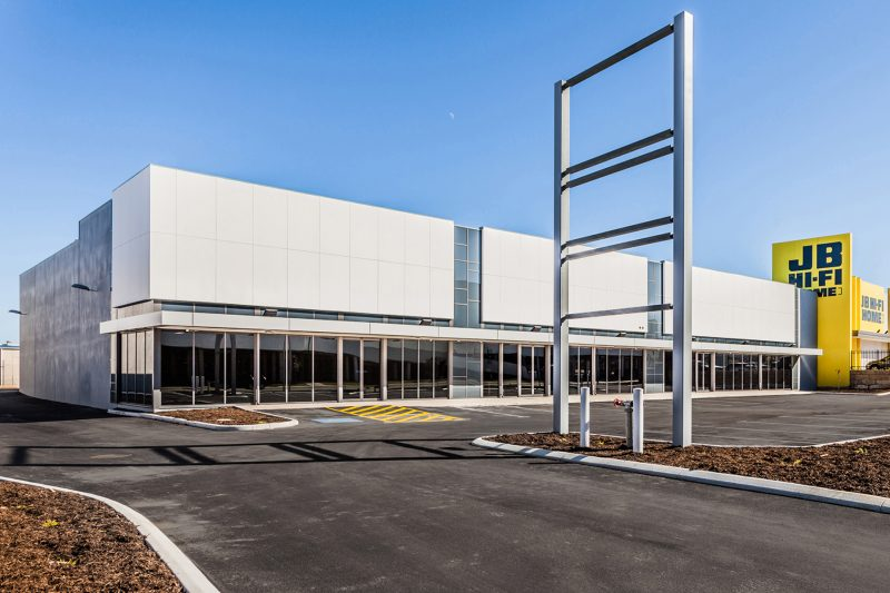 Joondalup Showrooms Completed